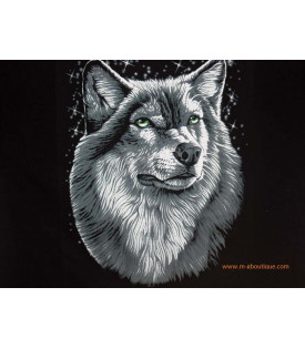 Tee shirt Loup Biker & Country
