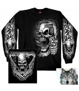 T-shirt polo sweat Skull Assassin