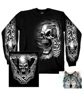 T-shirt polo sweat Skull Assassin