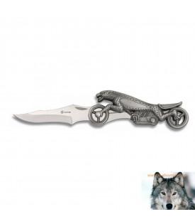 Couteau Panthère Biker Moto