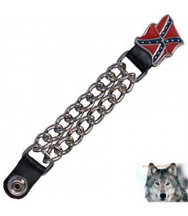 Extension Gilet Chaine Rebel Confédéré