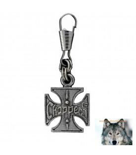 Tirettes Pour Fermeture Eclair Croix De Malte Choppers