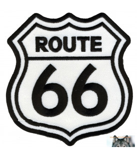 patch écusson route 66 biker