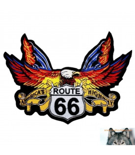 Patch écusson Aigle Route 66