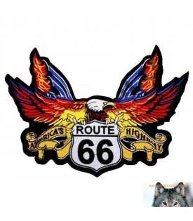 Patch écusson Aigle Route 66