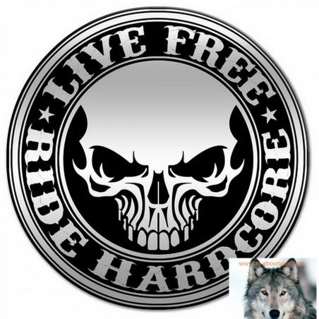 Pin's Biker Skull Free