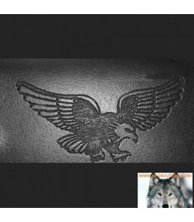 Portefeuille Biker Cuir Aigle Harley Avec Chainette Ceinture