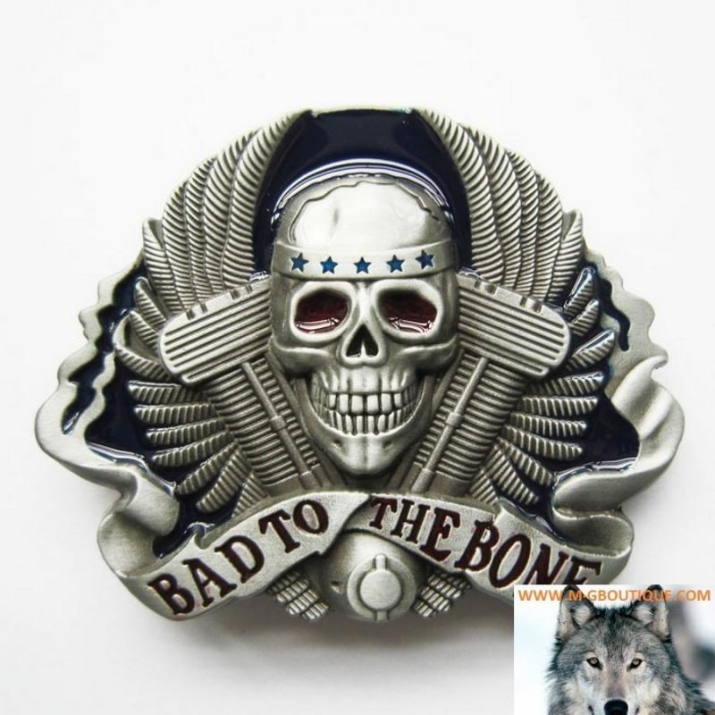 Boucle Ceinture Tête De Mort V-Twin Skull