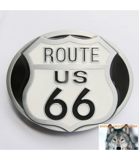 Boucle Ceinture Biker Route 66 US