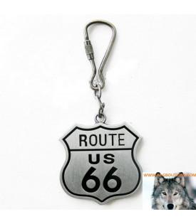 Porte-Clés Route 66 US Biker