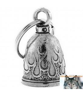 Clochette Flammes Porte Bonheur Moto Guardian Bell