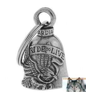 Clochette Aigle Porte Bonheur Moto Gardian Bell