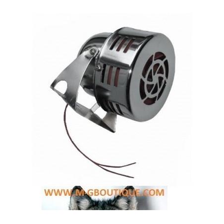 Sirène turbine Police US 12V