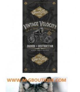Foulard tube Vintage Moto Biker