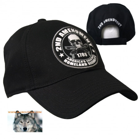 Casquette biker Crane 2nd Amendment