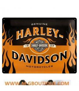 Plaque Décoration Harley Davidson