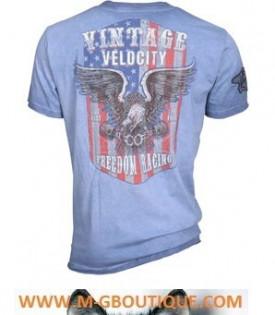 T-shirt Biker Racing USA