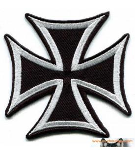 Patch écusson Croix De Malte Biker