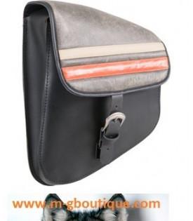 Sacoche Moto Pour Bras Oscillant Softtail