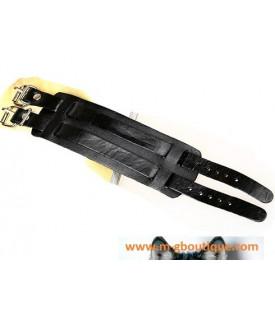 Bracelet Cuir Bracelet De Force Noir