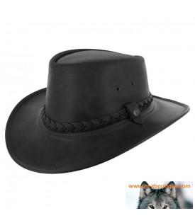 Chapeau Pliable Steerhide Traveller by BC Hats