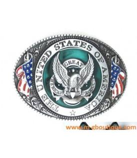 Boucle De Ceinture Aigle USA