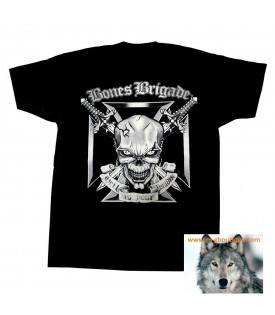 Tee Shirt Skull Bones Brigade