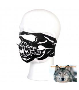 Masque Néoprène Skull Tête De Mort