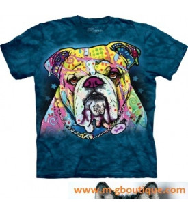 T-shirt Chien Bulldog