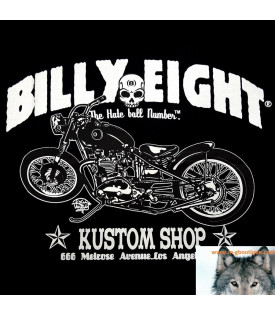 Original Tee Shirt Billy Eight Kustom Motorcycles
