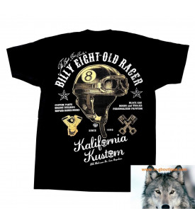 """T-Shirt Billy Eight """"Old Racer"""""""