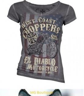 T-shirt Femme El Diablo