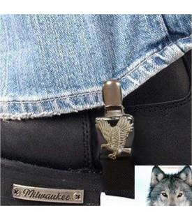 Paire de clips pantalon Aigle biker