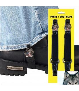 Paire de clips pantalon aigle US military Vets
