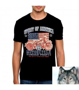 T-Shirt Flag US Spirit Of America