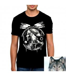 T-Shirt Attrape Rêves Indien Aigle