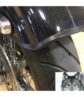 Enjoliveur De Garde Boue NOIR Moto Custom