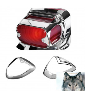 Suzuki Grille Phare Arrière Chrome Intruder C800, VL800, VL1500, M1500, C1800 Et M1800
