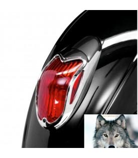 Kawasaki Grille Phare Arrière Chrome VN900, VN1500 Et VN1600