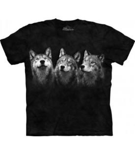 Tee-Shirt Loups Triad