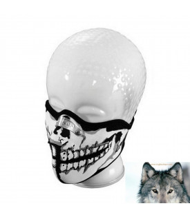 Foulard / Masque Skull Néorpène Avec Protection Nez