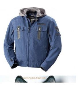 Blouson Veste Textile Biker