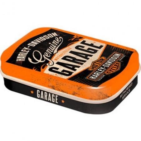 Boite Pilulier Harley Davidson GARAGE