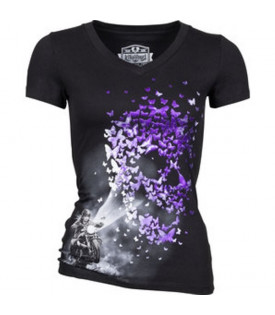 Tee-Shirt Femme Butterfly Light