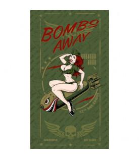 Foulard Tube Bombs Away Pinup