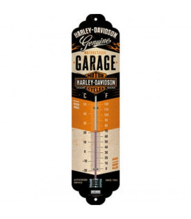 Thermomètre Harley Davidson Garage