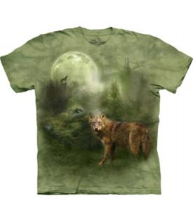 T-Shirt Loup Forest Spirit