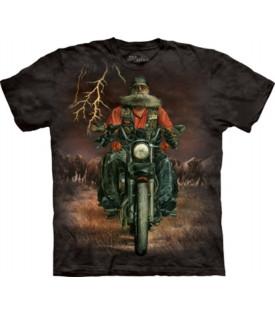 T-Shirt Moto Biker Buffalo Thunder