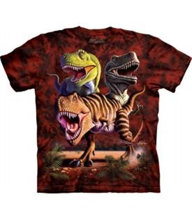 Tee-Shirt Dinosaures Rex Trio
