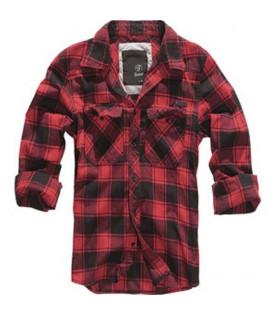 Chemise Rouge Carreaux Noir